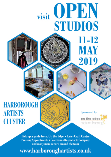 Harborough Artists Cluster poster 2019