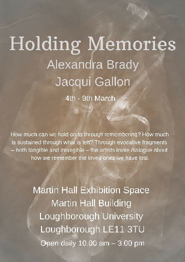 Poster for Holding Memories