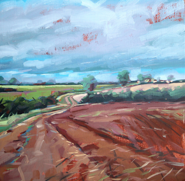 Painting the Wistow Landscape (Outdoors) Workshop - Jane French