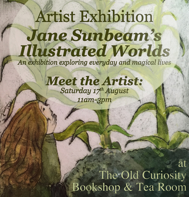 Jane Sunbeam's Illustrated Worlds