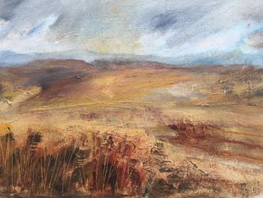 Joanna Fairley painting