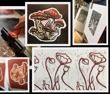 Lino Printing Workshop - Jo Sheppard