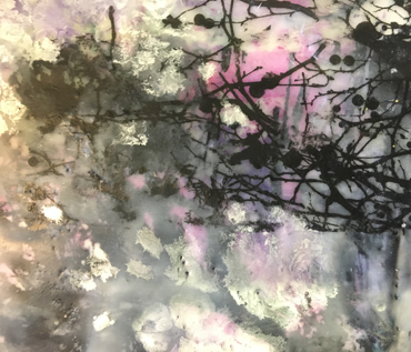Jo Sheppard - student encaustic paintings