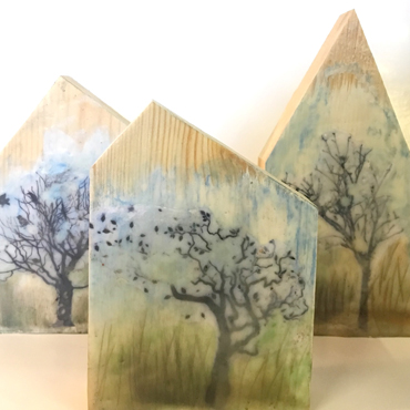 Working with Wax (Encaustic) Workshop for Improvers - Jo Sheppard