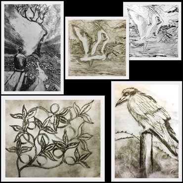 Drypoint Etching Workshop - Jo Sheppard