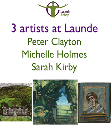 Launde Abbey Artists in Residence poster