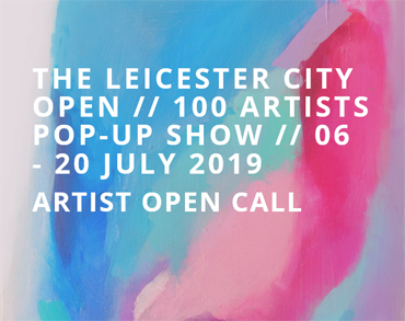 Leicester City Open - 100 Artists Pop-Up-Show