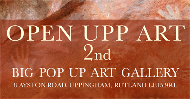 Open Upp Art poster