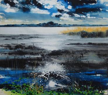 painting by Philip Dawson