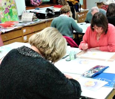 Beginners Watercolours Class - Rita Sadler
