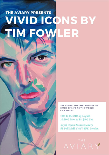 Tim Fowler Vivid Icons poster