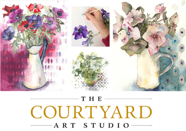 The Courtyard Art Studio poster