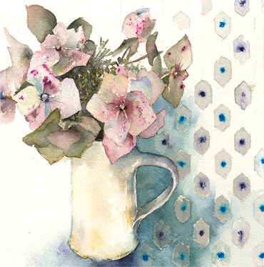 Introduction image for Still Life Floral Watercolour Workshop - Vivienne Cawson