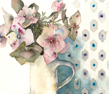 Still Life Floral Watercolour Workshop - Vivienne Cawson
