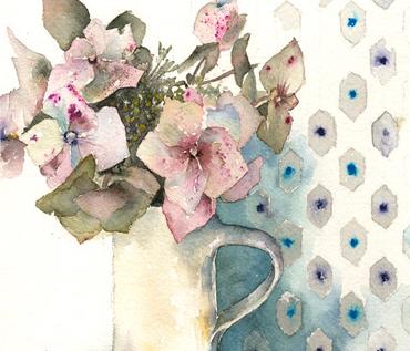 Still Life Floral Watercolour Workshop - Vivienne Cawson