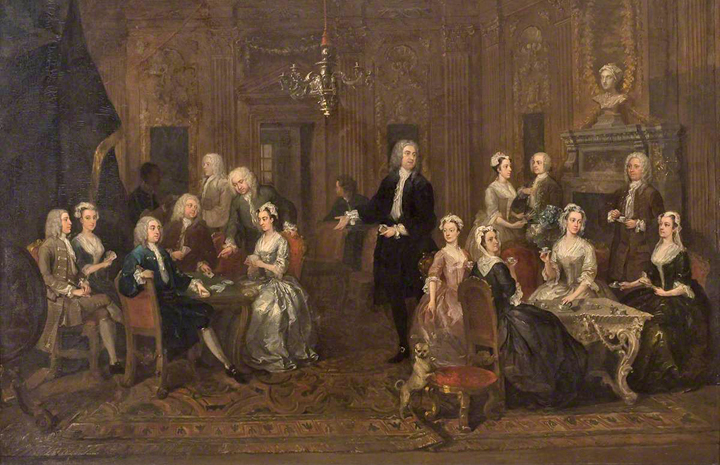William Hogarth, 'The Wollaston Family'