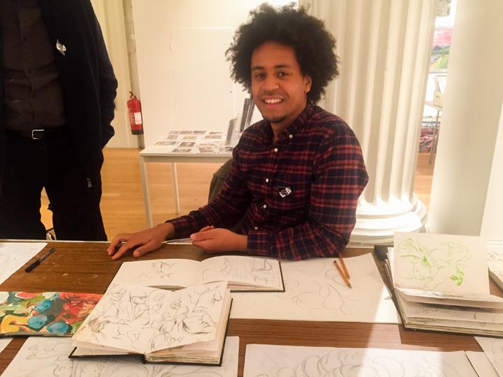 Artist Jarvis Brookfield