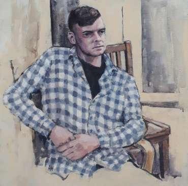 Thumbnail image of 82: Alan Willey, 'Matt' - LSA Annual Exhibition 2020   Artwork