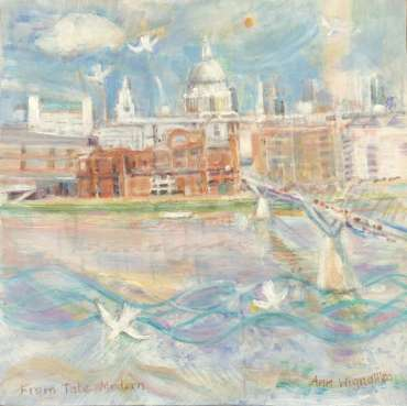 Thumbnail image of 81: Ann Wignall, 'From Tate Modern' - LSA Annual Exhibition 2020   Artwork