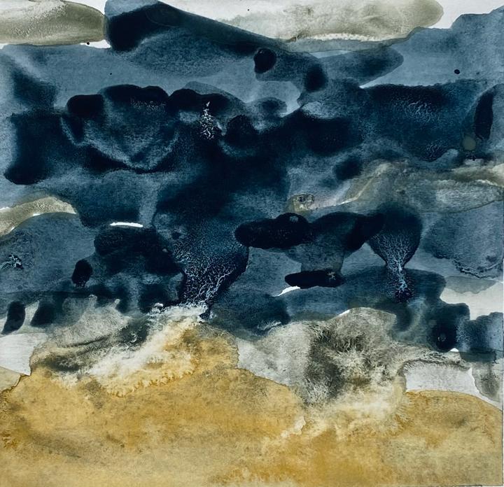 David Clarke, Thundery Sky