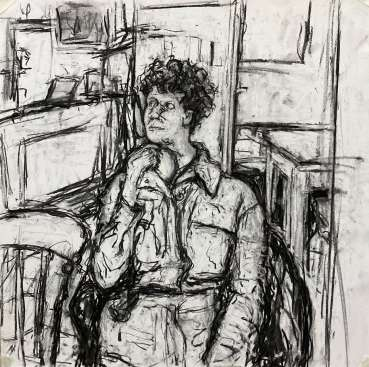 Thumbnail image of 73:  Deborah Ward,'Last Pub Meal' - LSA Annual Exhibition 2020 | Artwork