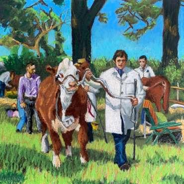Thumbnail image of 02: Frank Bingley, 'Show Beast' - LSA Annual Exhibition 2020   Artwork