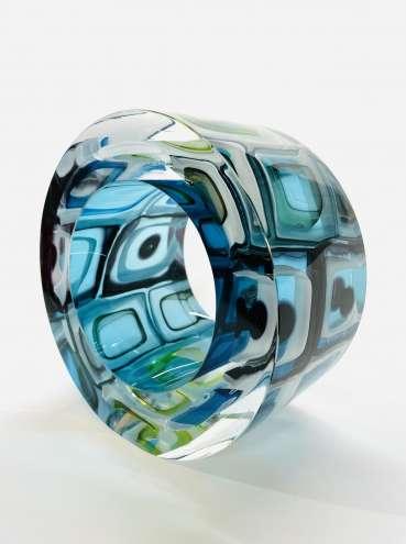 Thumbnail image of 29: Graeme Hawes, 'Murrini Slice', £395 - LSA Annual Exhibition 2020   Artwork