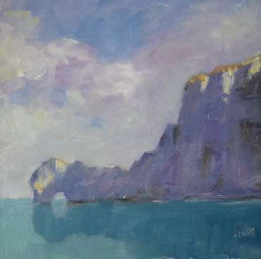 Thumbnail image of 40: Graham Lacey, 'Sky, Land and Sea' - LSA Annual Exhibition 2020   Artwork