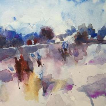Thumbnail image of 14: Hazel Crabtree, 'Winter Fields' - LSA Annual Exhibition 2020   Artwork