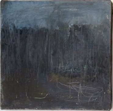 Thumbnail image of 20:  Jacqui Gallon, 'Woodland Abstruction' - left panel of diptych - LSA Annual Exhibition 2020 | Artwork