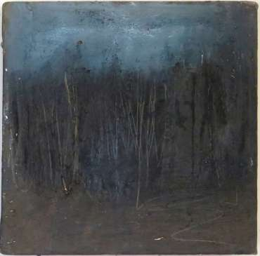 Thumbnail image of 20: Jacqui Gallon, 'Woodland Abstruction' - right panel of diptych - LSA Annual Exhibition 2020   Artwork