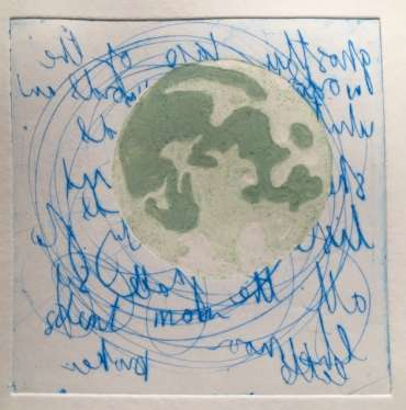 Thumbnail image of 45:  Jo McChesney, 'Green Moon' - LSA Annual Exhibition 2020 | Artwork