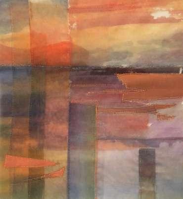 Thumbnail image of 21: Linda Gleave, 'Breakwater' - LSA Annual Exhibition 2020   Artwork