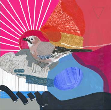 Thumbnail image of 66: Lucy Stevens, 'Jay (Pink Sunset)' - LSA Annual Exhibition 2020   Artwork
