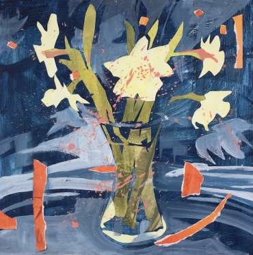 Thumbnail image of 06:  Margaret Chapman, 'Lockdown Daffodils' - LSA Annual Exhibition 2020 | Artwork