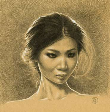 Thumbnail image of 69: Pete Underhill, 'Girl' - LSA Annual Exhibition 2020   Artwork