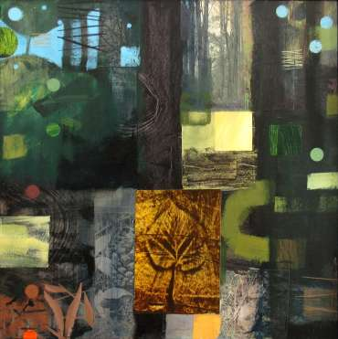 Thumbnail image of 09:  Peter Clayton, 'Woodland Elements 2' - LSA Annual Exhibition 2020 | Artwork