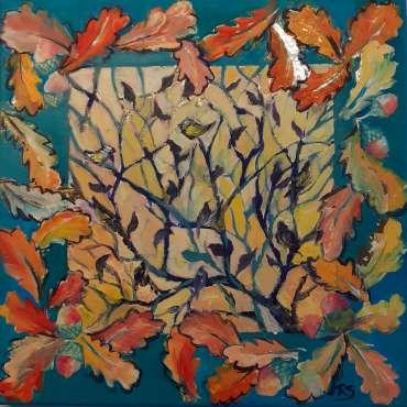Thumbnail image of 53: Rita Sadler, 'Autumn Gold' - LSA Annual Exhibition 2020   Artwork