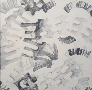 Thumbnail image of 33: Roderick Hill, 'Arish Mell, Dorset' - sketch - LSA Annual Exhibition 2020   Artwork