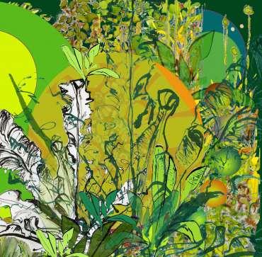 Thumbnail image of 10: Sue Clegg, 'Seventh Heaven 1' - LSA Annual Exhibition 2020   Artwork
