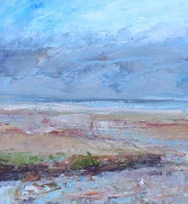 Thumbnail image of 23: Sue Graham, 'Purple Haze, Holme-next-the-Sea, Norfolk' - LSA Annual Exhibition 2020   Artwork