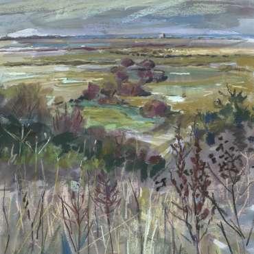Thumbnail image of 54: Susan R Sansome RBSA, 'Blakeney' - LSA Annual Exhibition 2020   Artwork