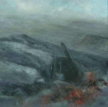 Thumbnail image of 26: Suzanne Harry, 'Towards Carl Walk, Peak District' - Diptygh - Left Panel - LSA Annual Exhibition 2020   Artwork