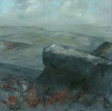 Thumbnail image of 27: Suzanne Harry, 'Towards Carl Walk, Peak District' - Diptygh - Right Panel - LSA Annual Exhibition 2020   Artwork