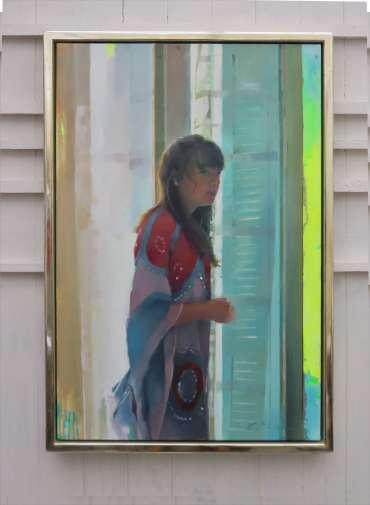 Thumbnail image of Chris Macauley, 'The Window, Rue Massena', - Inspired | April