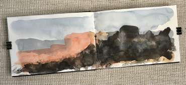 Thumbnail image of David Clarke, 'Mood Scape' series - work in progress (1) - Inspired   April