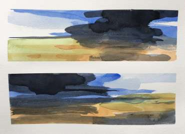 Thumbnail image of David Clarke,'Mood Scape' series - work in progress (3) - Inspired | April