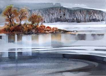 Thumbnail image of Deborah Bird, 'Frisby Lakes' - Inspired | April