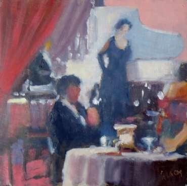 Thumbnail image of Graham Lacey, 'Cabaret' - Inspired   April
