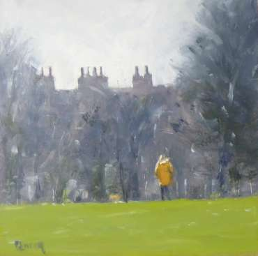Thumbnail image of Graham Lacey, 'Sunday Morning with Dog' - Inspired   April